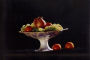 photo nature morte nature morte fruit grenade : coupe de fruits
